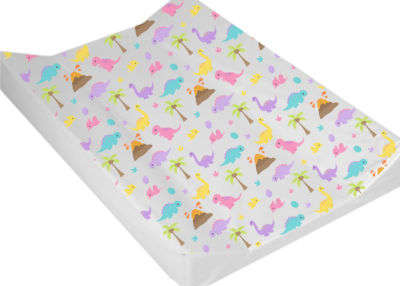 Wedge Changing Mat  - Colourful Dino