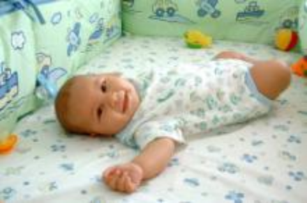baby on his back - baby mattresses online