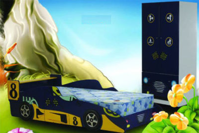 Mattress for 3' Mean Machine bed - mattress size 190 x 90 cm 6'3 x 3'