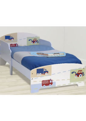 Mattress to fit Boy's Toddler Bed Broom Broom (2012)