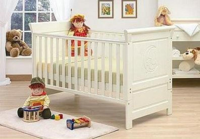 Mattress To Fit Alicante Dropside Cot Bed 140 X 70 Cm