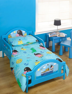 Cot bed or Junior bed  mattress to fit George the Pirate bed - mattress size 140 x 70 cm