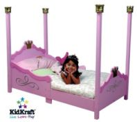 Photography of Fully sprung mattress for Kidcraft princess bed