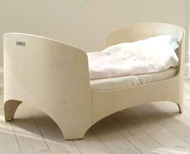 leander bed version 145 x 65 cm oval (D) shape (2011)