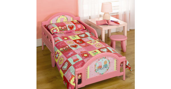 Cot Bed Or Junior Mattress To Fit Peppa Pig Polka Dot Toddler
