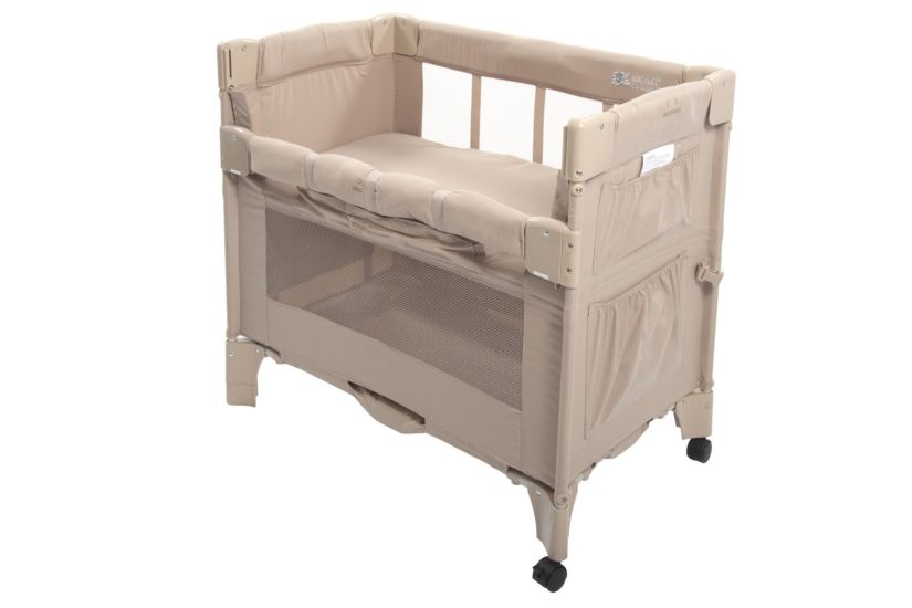 baby cosatto mattress bedside sleeping p to chicco beds next cot me co than sleeper cots larger heights