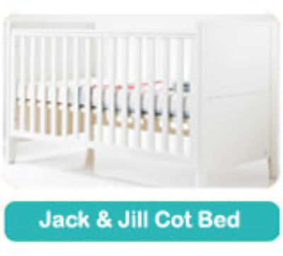 Fully Sprung mattress to fit Cosatto Jack & Jill cot bed 140 x 70 cm