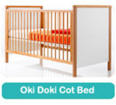 Fully Sprung mattress to fit Cosatto OKI DOKI cot bed 140 x 70 cm