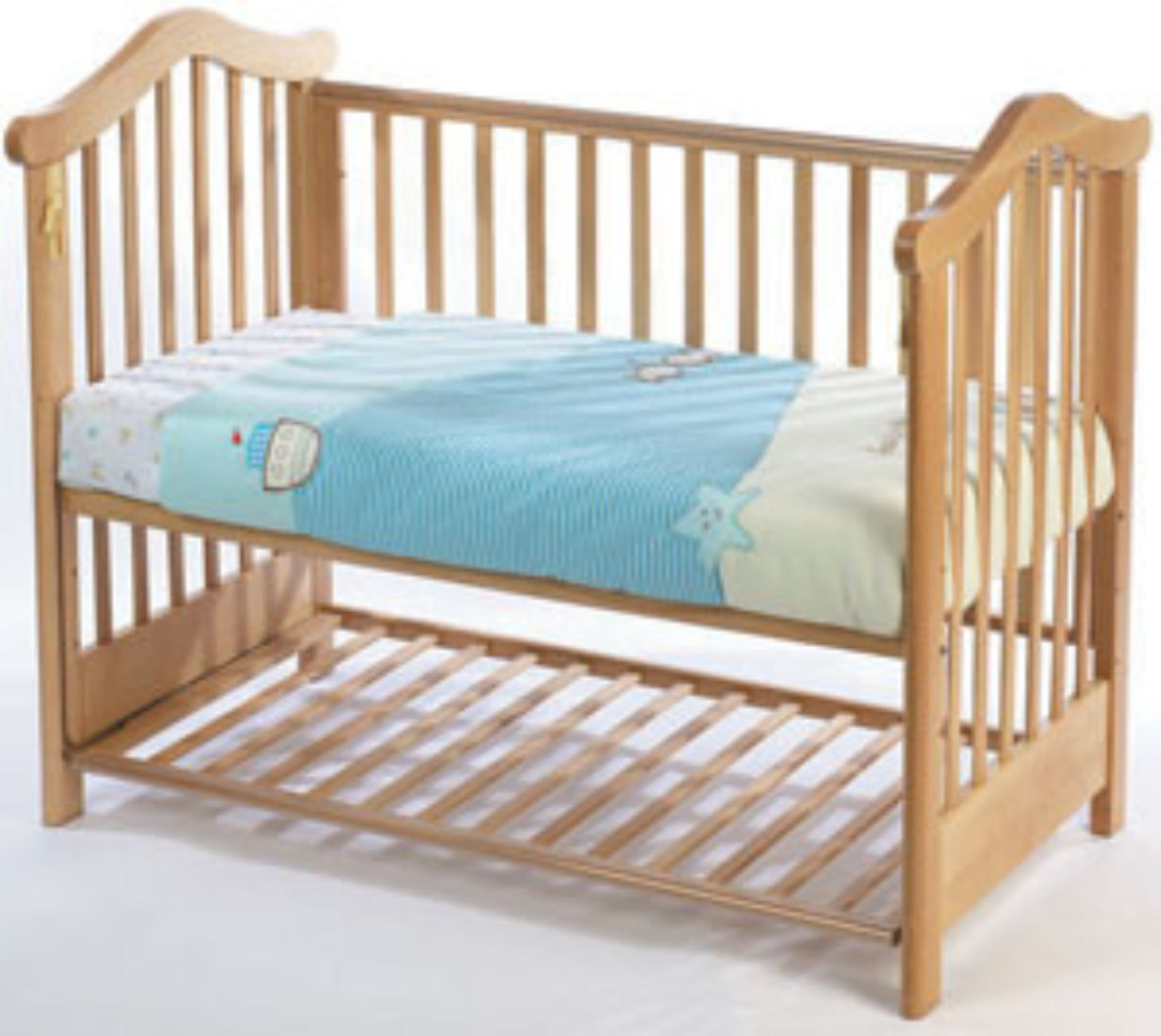 Fully Sprung Mattress To Fit Cosatto Olivia Bedside Cot