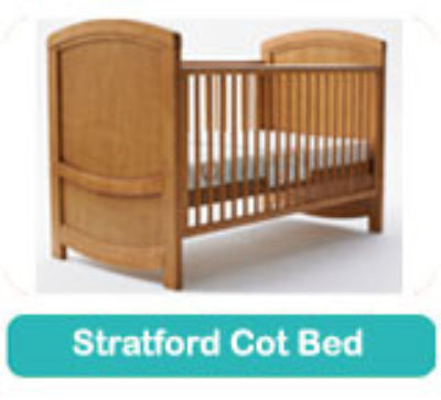 Fully Sprung mattress to fit Cosatto STRATFORD cot bed 140 x 70 cm