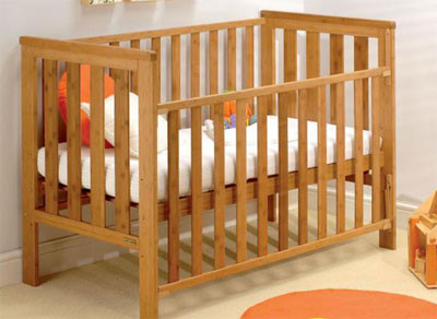Mattress to fit East Coast Bamboo Cot - mattress size is  120 x 60 cm