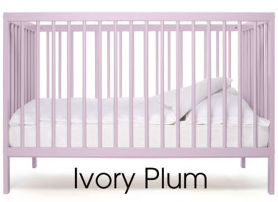 Mattress to fit Mokee ivory plum colour cot (2013) 120 x 60 cm