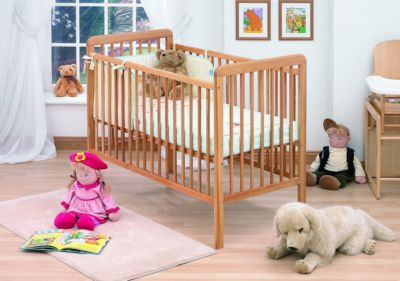 Mattress to fit Tutti Bambini Claudia cot - mattress size is 120 x 60 cm