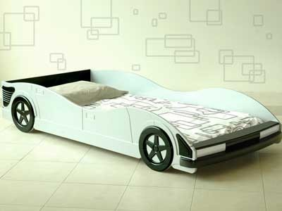 Mattress to fit Harmony Michael Racing Car Bed - mattress size is 190 x 90 cm.