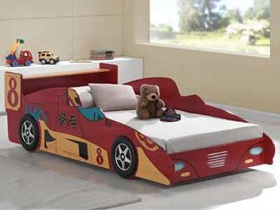 Mattress to fit Joseph F1 Racer Bed - mattress size is 190 x 90 cm.