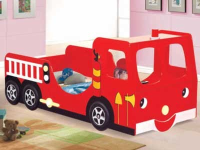 Mattress to fit Joseph Fire Engine Bed - mattress size is  190 x 90 cm.