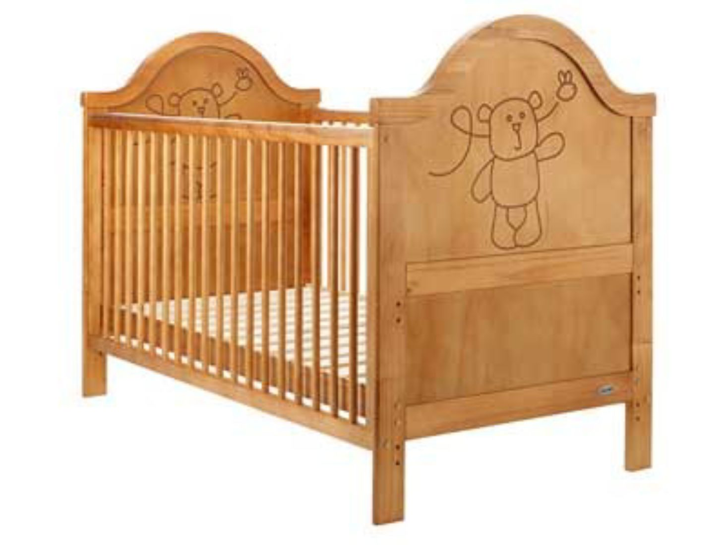 Mattress to fit OBaby B is for Bear Country Pine Cot Bed