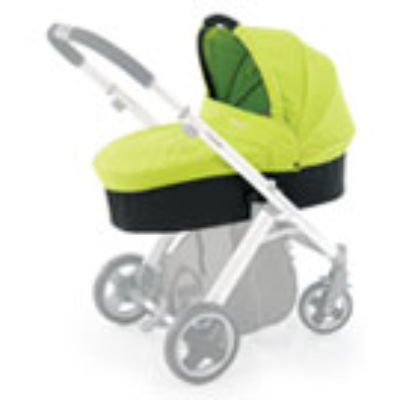 Custom Made Mattress to fit Babystyle Oyster Carrycot  - Lime (2012) - size & shape as our template