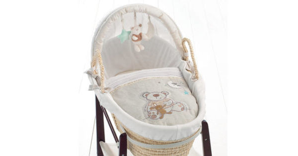 new styles ee2a0 ce275 Mattress for Babies R Us I Love My Bear Moses Basket
