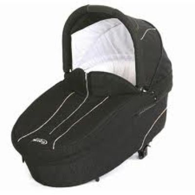 Norton Storm carrycot 73 x 33 cm oval (2012) - custom made mattress to fit