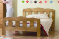 Photography of Mattress to fit Saplings Beatrice junior bed - mattress size is 140 x 69 cm.