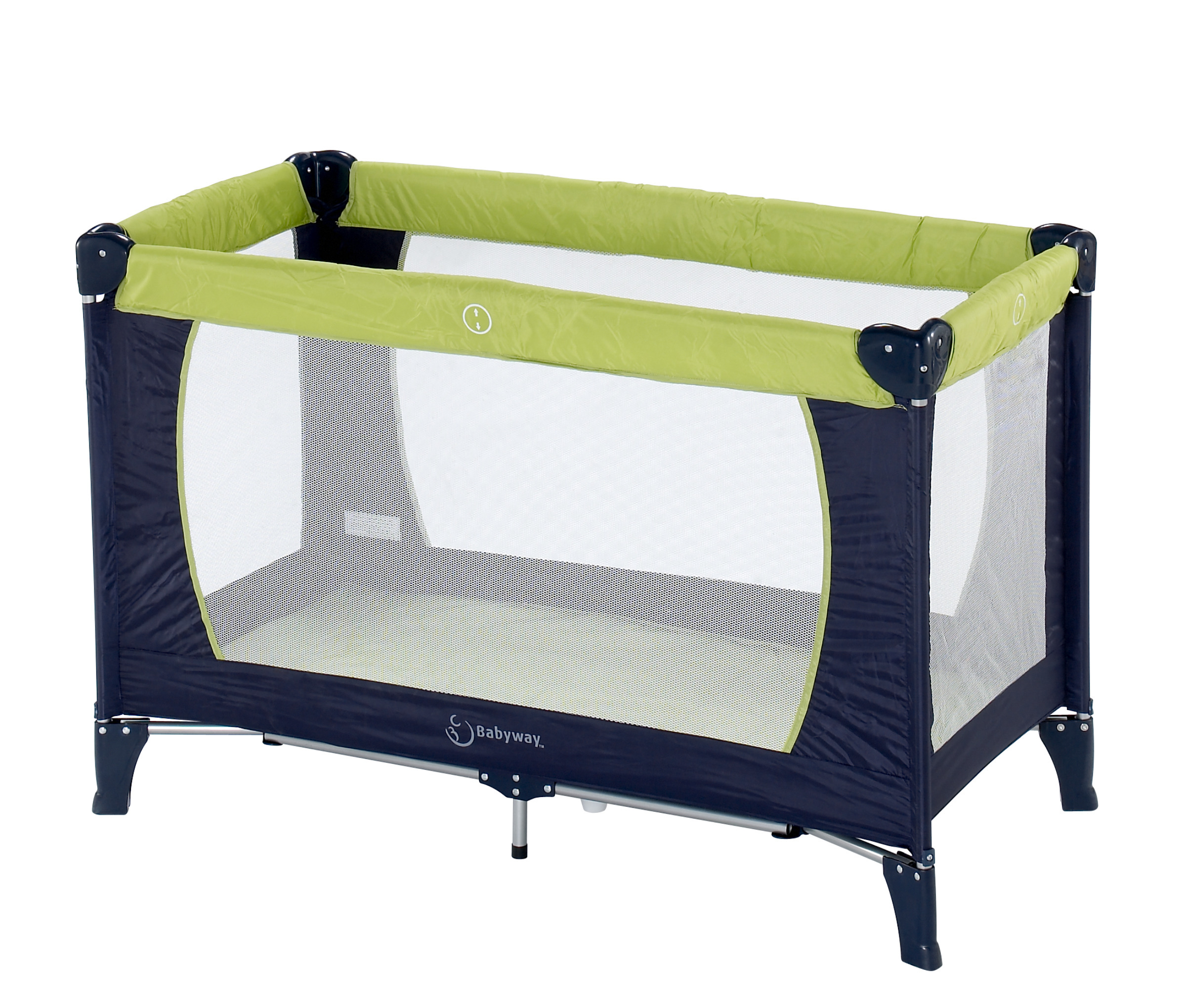 NEW TRAVEL COT MATTRESS FIT 119 X 59 CM BABY DAN HAUCK FULLY BREATHABLE