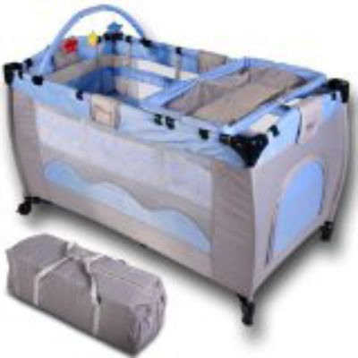 Mattress to fit travel cot Child travel bed cot Bassinet Playpen with entry - mattress 110 x 53 cm