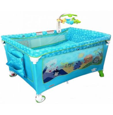 Travel Cot Mattress for Fisher Price 2 in 1 Travel Cot Playpen - Precious Planet - mattress 98 x 70 cm (2013)