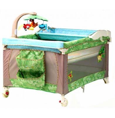 Travel Cot Mattress for Fisher Price 3 in 1 Travel Cot Playpen - Rainforest - mattress 90 x 70 cm (2013)