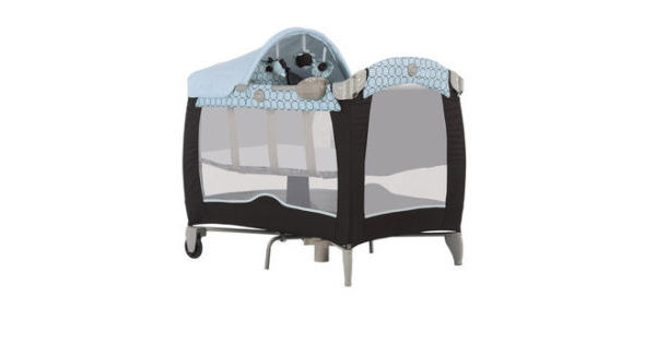 the best attitude 4be78 94361 travel cot mattress to fit Graco Contour Electra Basinette in ...