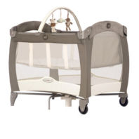 Photography of travel cot mattress to fit Graco Contour Electra Basinette with Napper - I Love My Bear - mattress size 93 x 64 cm Toys R Us 2010
