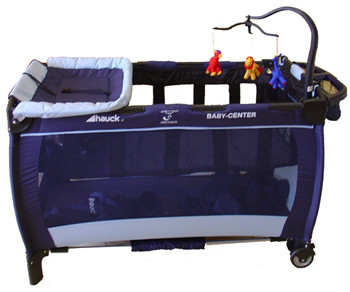 hauck travel cot how to collapse