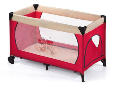 Travel Cot Mattress to fit Hauck Disney Mickey & Minnie mouse Red Playpen Travel cot Dream 'n Play - mattress 120 x 60 cm (2013)