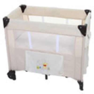 Mattress to fit Hauck Dream n Care 11 Travel Cot - Pooh Doodle Brown - 81 x 46 cm (2012)