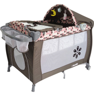 Travel Cot Mattress to fit PINK BABYHOME PORTABLE TRAVEL BABY COT PLAYPEN - mattress 105 x 70 cm (2013)