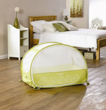Samsonite Pop Up Bubble Travel Lemon & Lime mattress size 100 x 60 cm