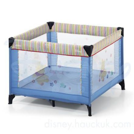 winnie the pooh square travel cot