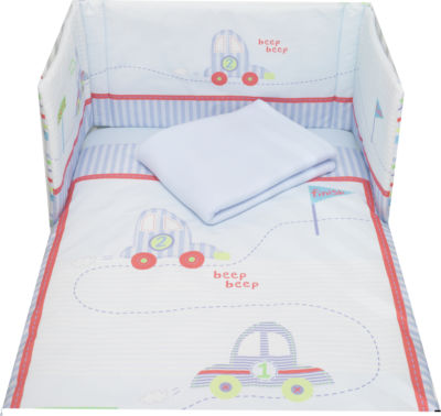4 Piece Bedding Bale - Beep & Brum