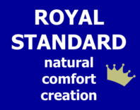 Photography of ROYAL STANDARD natural couture creation - size 131 x 75 cm to fit Boori  cot beds