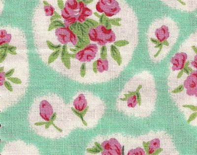 Nursing & Feeding Cushion - April Cottage - MINT GREEN
