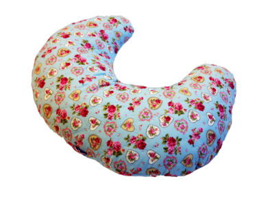 Nursing & Feeding Cushion - Vintage design - Hearts & Flowers CP0197