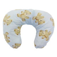 Photography of Nursing & Feeding Cushion - Vintage Teddy Blue