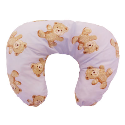 Nursing & Feeding Cushion - Vintage Teddy Pink