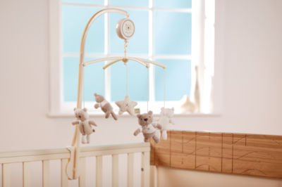 Musical Cot Mobile - Biscotti Bear