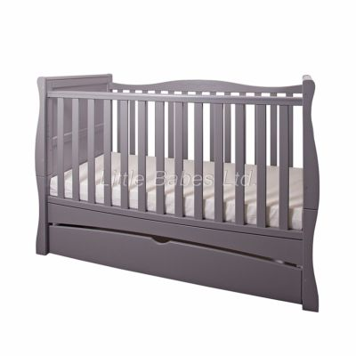 Mattress to fit New Baby Grey Sleigh Mason Cot Bed with Drawer 140 x 70