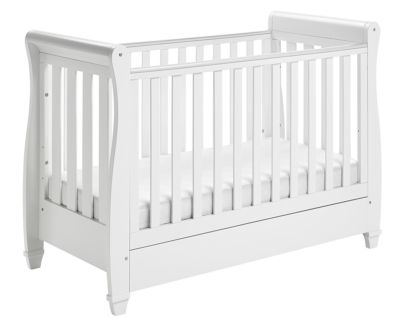 Mattress to fit Babymore Eva Sleigh Cot Bed Dropside with Drawer 120 x 60 cm