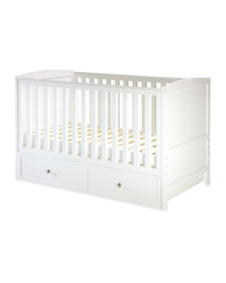 Mattress to fit Aldi Nursery Cot Bed With Drawer 143 x 71 x 10 cm