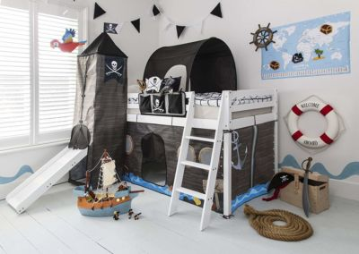Mattress to fit Cabin Bed with Slide Midsleeper Kids Pirate Hideaway with Tent - 190 x 90cm