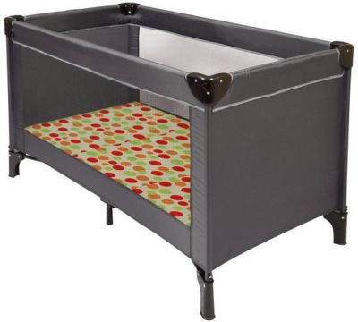 Travel Cot Mattress to fit Clevamama Foam 3 in 1 Travel Cot Mattress, Play Mat and Seat 95 x 65 cm