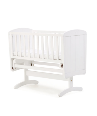 Made to Measure Mattress for Mothercare Deluxe Gliding crib - White
